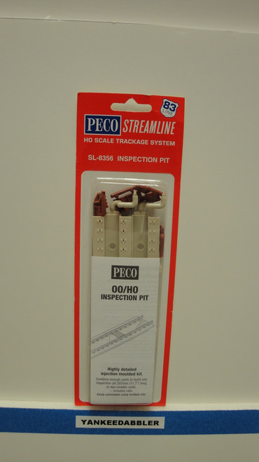 SL-8356 Peco / SL-8356 HO Code 83 Inspection Pit (SCALE=HO ) P Part # PCO-SL-8356