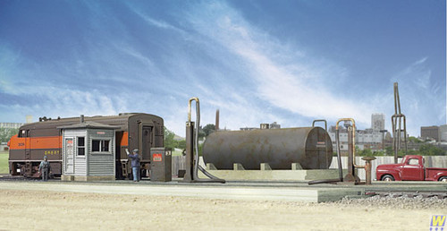 2908 (HO Scale) WAL-933-2908        Diesel Fueling Facility