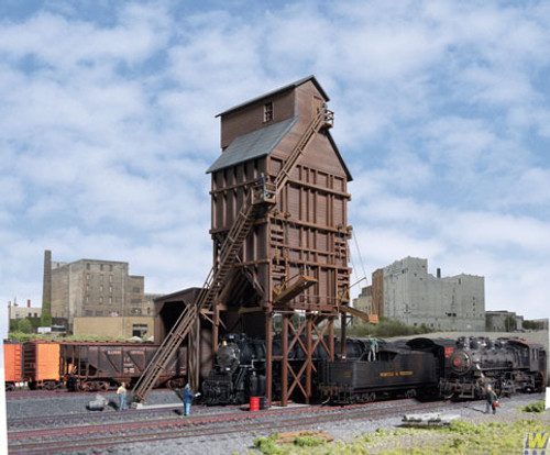 2922 (HO Scale) WAL-933-2922        Wood Coaling Tower