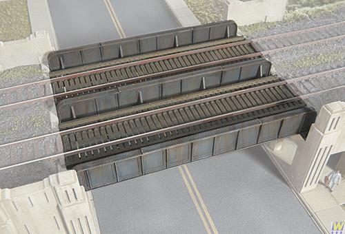 2948 (HO Scale) WAL-933-2948        Plate Girder Bridge