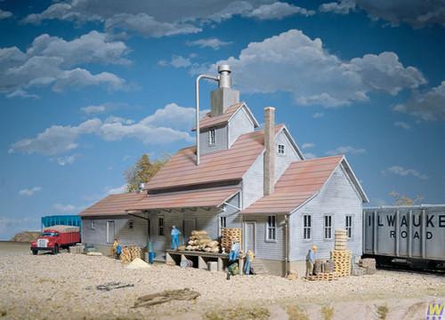 3061 (HO Scale) WAL-933-3061        Sunrise Feed Mill HO