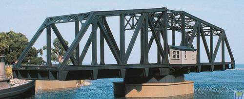3088 (HO Scale) WAL-933-3088        Dbl-Track Swing Bridge