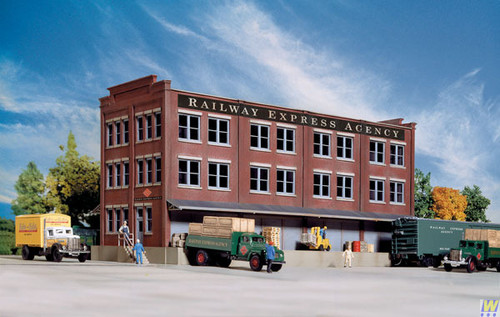 3095 (HO Scale) WAL-933-3095        REA Transfer Building