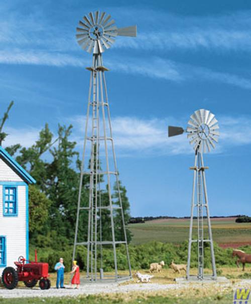 3198 (HO Scale) WAL-933-3198        Van Dyke Farm Windmill