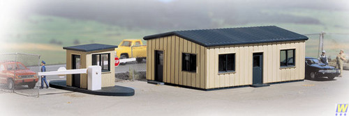 3517 (HO Scale) WAL-933-3517        Office and Guard Shack