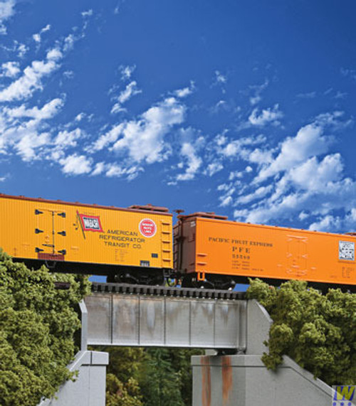 4505 (HO Scale) WAL-933-4505        30' Sgl Trk Deck Grd Brg