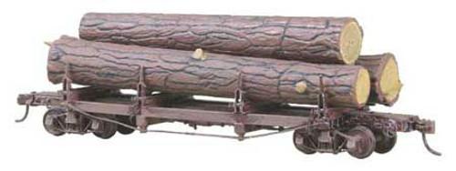 103 Kadee / Truss Log Flatcar UNDEC  (HO Scale) Part # 380-103