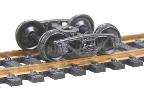 504 Kadee / A.S.F. Ride Control 50-Ton Trucks Metal Fully Sprung Equalized Trucks 1 pair /  (HO Scale) Part # 380-504
