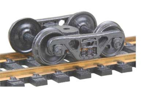 513 Kadee / A.S.F.® 100-ton Roller Bearing Trucks Metal Fully Sprung Equalized Trucks 1 pair /  (HO Scale) Part # 380-513