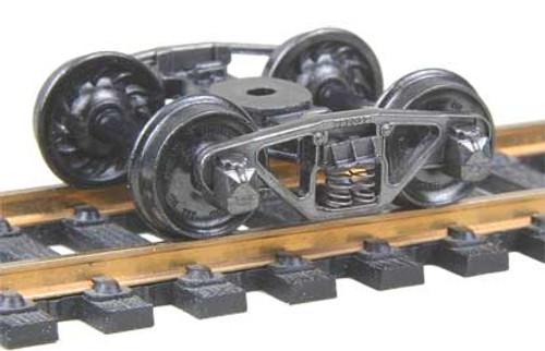 515 Kadee / Vulcan Double Truss Trucks Metal Fully Sprung Equalized Trucks 1 pair /  (HO Scale) Part # 380-515