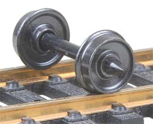 "524 Kadee / 28"" Diameter Smooth Back Code 110 ""Standard"" Wheelsets Package of 12 (HO Scale) Part # 380-524"