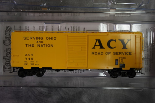 4128 Kadee / PS 40' Boxcar ACY #745  (HO Scale) Part # 380-4128