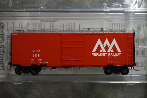 4930 Kadee / PS 40' Boxcar VTR #156  (HO Scale) Part # 380-4930
