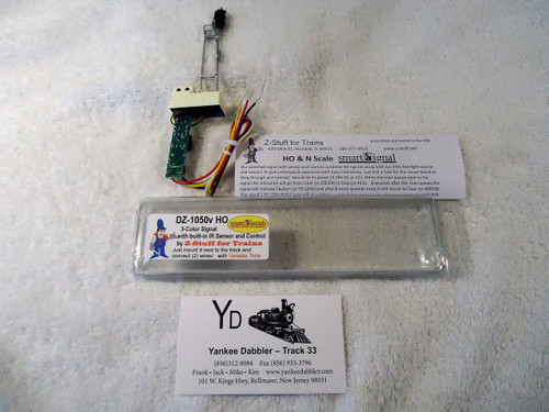 1050 (HO Scale) ZST-799-DZ-1050-HO 3-Color Trackside Signal