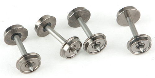 2305 Walthers Proto / 36''- 100 count Metal Wheels w/Mtl Axels   (SCALE=HO)  Part # 920-2305