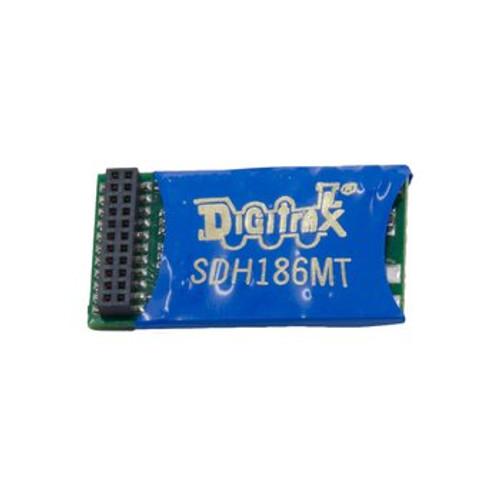SDH186MT Digitrax / Decoder 8Bit 21MTC Intrf  (Scale = HO)  Part # 245-SDH186MT