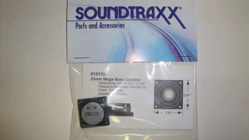 810129 Soundtraxx /  23mm Square x 10.2mm (D), 8 Oh (SCALE=ALL) Part # = 678-810129