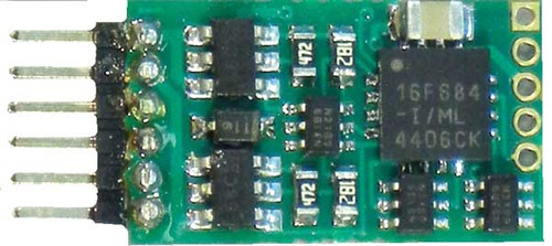 160 NCE - 4-Fnctn Dcdr w/6-Pin NEM Part # 524-160
