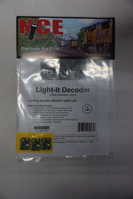 161 NCE - Light-It Lt/Sgnl Dcdr 3/ Part # 524-161