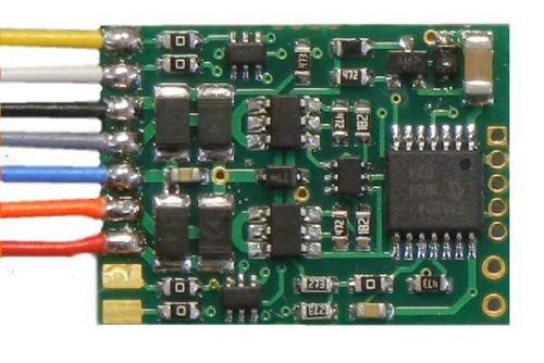 172 NCE -  D13W Decoder 4 Pack / Part # 524-172