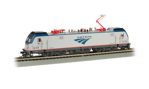 Bachmann 67402 /  AMTRAK ELECTRIC LOCOMOTIVE Cities Sprinters for Northeast Corridor ACS-64  #619  TCS WOW CD Quality SOUND, Keep-Alive, TCS Audio Assist, Lighting including Ditch Lights (SCALE=HO) Part # 160-67402