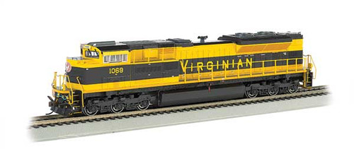 Bachmann 66005 / EMD SD70ACe - Sound & DCC - Heritage Edition -- Norfolk Southern #1069 (Virginian Heritage Scheme, black, yellow) HO Scale Part #  =     160-66005