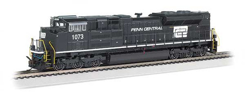 Bachmann 66007 / EMD SD70ACe - Sound & DCC -working Ditch Lights- Norfolk Southern #1073 (Penn Central Heritage, black, white) HO Scale Part #  =     160-66007