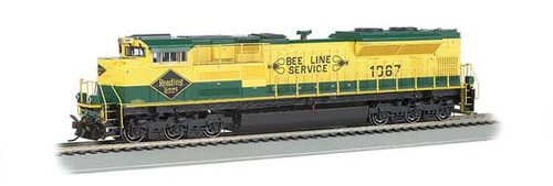 Bachmann 66008 / EMD SD70ACe - Sound & DCC --working Ditch Lights Norfolk Southern #1067 (Reading Heritage, green, yellow) HO Scale Part #  =     160-66008