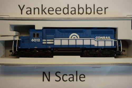 ATLAS 40003730 / EMD SD35 Low Nose - LokSound & DCC - Master(R) Gold -- ConRail # 6012 (blue, white)  Atlas Model Railroad Co.  - (SCALE=N) Part # 150-40003730