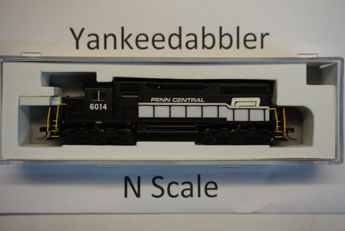 ATLAS 40003734 / EMD SD35 Low Nose - LokSound & DCC - Master(R) Gold -- PennCentral # 6014 (black, white, red P Logo)  Atlas Model Railroad Co.  - (SCALE=N) Part # 150-40003734