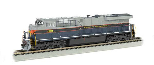 Bachmann 65401 / GE ES-44AC Soundtraxx Value Sound & DCC - CG Central of Georgia Heritage Edition  HO Scale Part #  =     160-65401