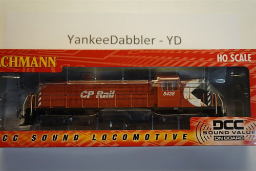 63902  Bachmann / ALCO RS-3- # 8438 DCC with Soundtraxx Value Sound Part #  =     160-63902