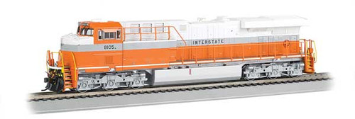 Bachmann 65406 / GE ES-44AC DCC & Soundtraxx Value SOUND w/working ditch lights Norfolk Southern #8105 (Interstate Heritage, gray, white, orange) HO Scale Part #  =     160-65406