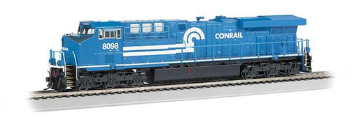 Bachmann 65409 / GE ES-44AC DCC & Soundtraxx Value SOUND w/working ditch lights Norfolk Southern #8098 (Conrail Heritage, blue, white)  HO Scale Part #  =  160-65409
