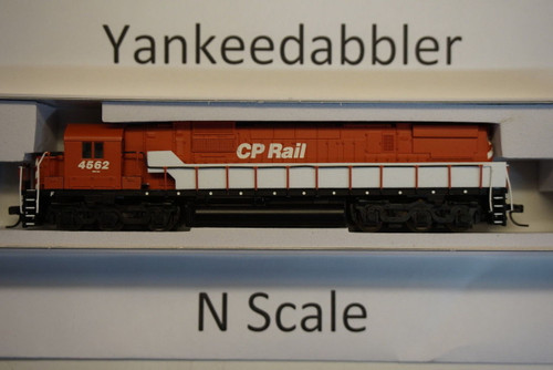 ATLAS 40003580 / Canadian Pacific #4562 (Action Red, black, No Multimark)  ALCO CP-630 - LokSound & DCC - Master(R) Gold --   Atlas Model Railroad Co.  - (SCALE=N) Part # 150-40003580