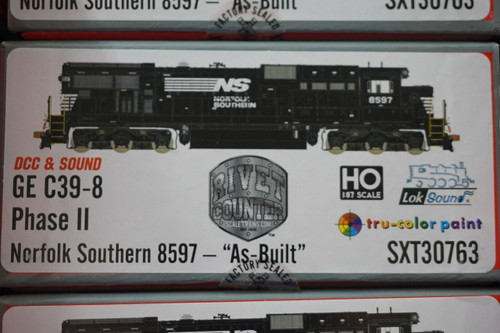 SXT30763 GE C39-8 Norfolk Southern #8597 Rivet Counter ScaleTrains  (SCALE=HO)  Part # 8003-SXT30763