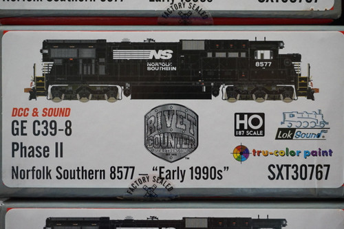 SXT30767 GE C39-8 Norfolk Southern #8577 Rivet Counter ScaleTrains  (SCALE=HO)  Part # 8003-SXT30767