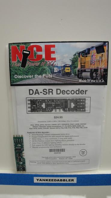 106 NCE /  DA-SR Solder-In DCC Decoder - Silent (SCALE=HO) Part # = NCE106