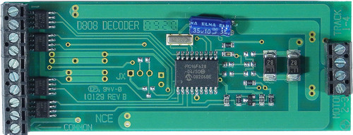 112 NCE /  Silent Running(TM) 8-Amp Decoder -- D8 (SCALE=G) Part # = NCE112