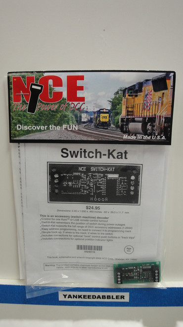116 NCE /  Switch Machine Decoder -- KATO-SW - (SCALE=ALL) Part # = NCE116