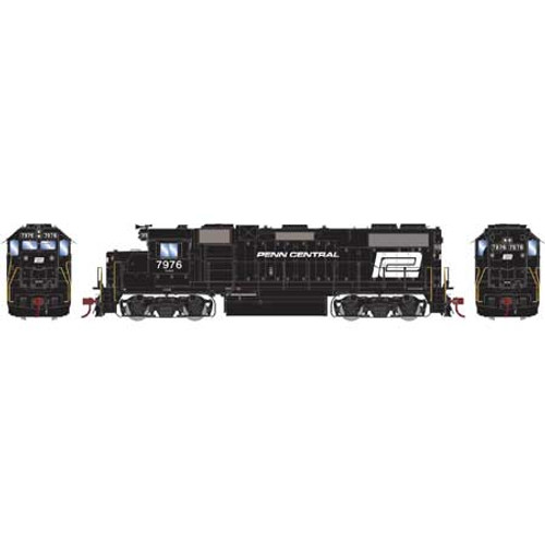 ATHG65470 GP38-2 PC Penn Central #7976 with DCC & Sound Tsunami2  (SCALE=HO)  Part #ATHG65470