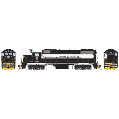 ATHG65780 GP38-2 D&S Durham & Southern #2002 with DCC & Sound Tsunami2  (SCALE=HO)  Part #ATHG65480