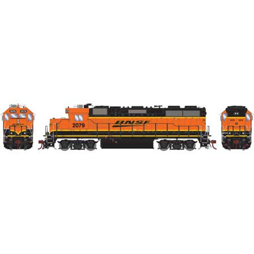 ATHG65775 GP38-2 BNSF #2079 with DCC & Sound Tsunami2  (SCALE=HO)  Part #ATHG65775