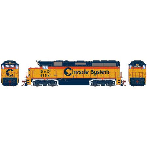 ATHG65758 GP40-2 B&O - Chessie System #4154 with DCC & Sound Tsunami2  (SCALE=HO)  Part #ATHG65758