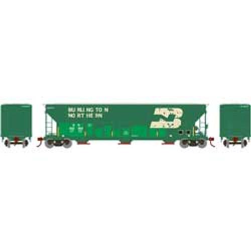 ATH82010 Athearn FMC 4700 Covered Hopper BN Burlington Northern #452502  (HO Scale) Part #ATH82010