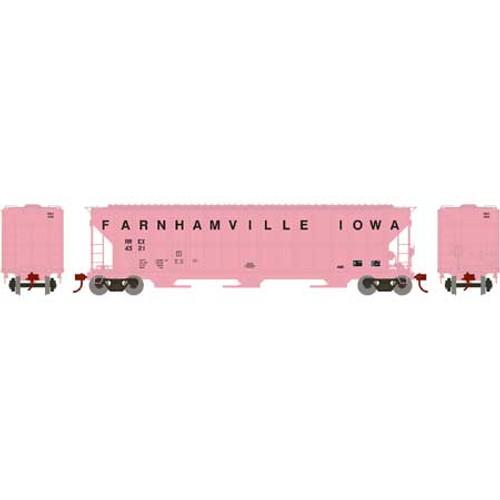 ATH82021 Athearn FMC 4700 Covered Hopper RREX - Farnhamville Iowa #4321  (HO Scale) Part #ATH82021