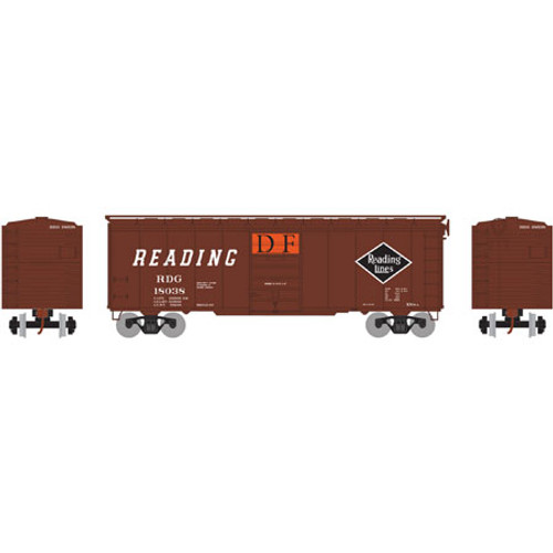 ATH73582 Athearn 40' Superior Door Boxcar RDG Reading #18038  (HO Scale) Part #ATH73582