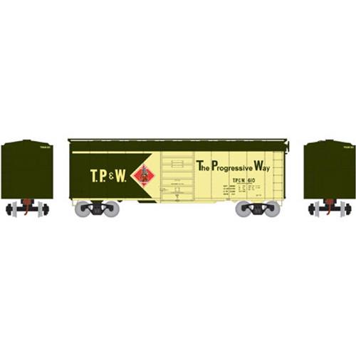 ATH73588 Athearn 40' Superior Door Boxcar TP&W Toledo Peoria & Western #610  (HO Scale) Part #ATH73588