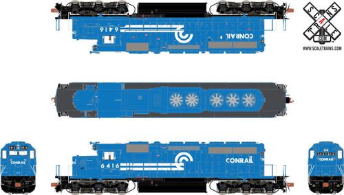 SXT30958 SD40-2 Conrail #6416 ESU LokSound DCC & Sound Rivet Counter ScaleTrains  (SCALE=HO)  Part # 8003-SXT30958