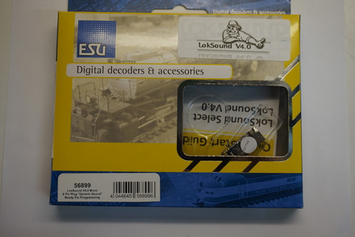 56899 ESU LokSound / micro V4.0 8 Pin NEM Interface «Universal sound - ready  (HO,N,TT Scale) Part # 397-56899